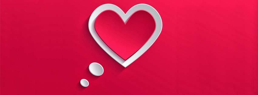 Ảnh bìa tình yêu đơn giản