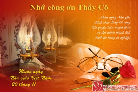 thiep hoa 20 thang 11