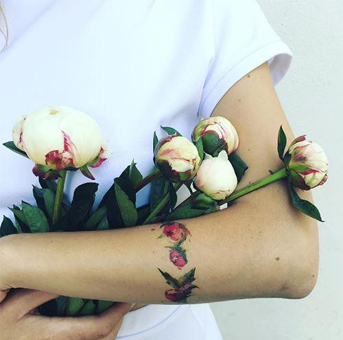 hinh xam hoa hong 1