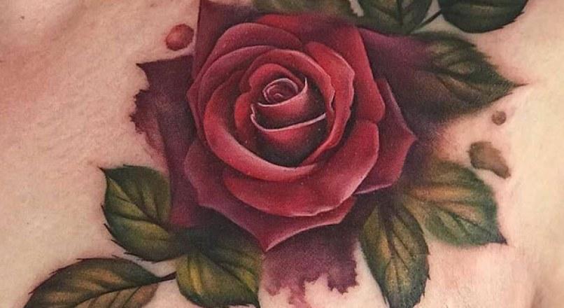 Bộ Hình Xăm Hoa Hồng Đẹp Nhất