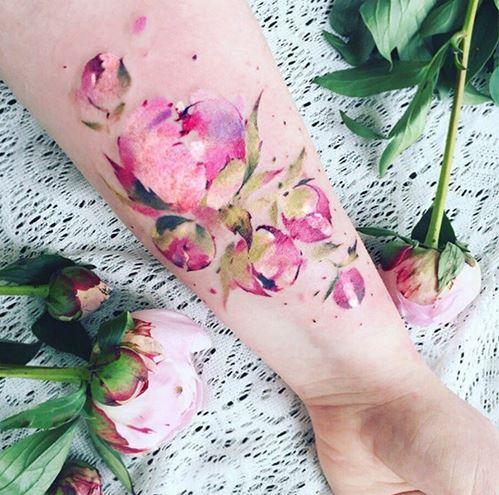 hinh xam hoa hong