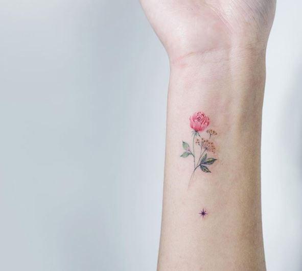 hinh xam hoa o co tay