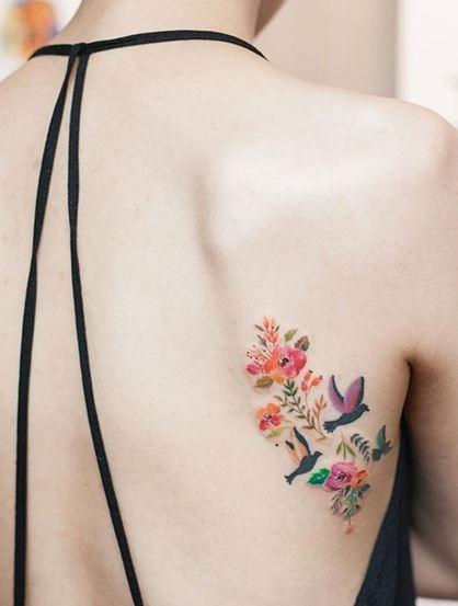 hinh xam hoa sau lung dep