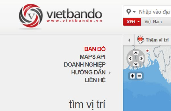 Vietbando: Bản đồ tìm đường của người Việt