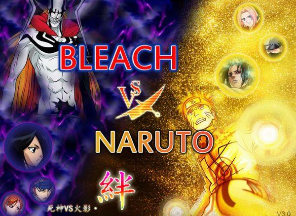 Game Bleach vs Naruto 3.0: Trò Naruto vs Bleach 3.0
