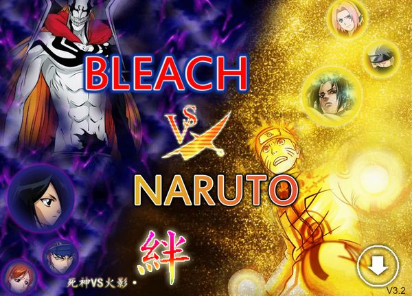 Game Bleach vs Naruto 3.3: Trò Bleach vs Naruto 3.3