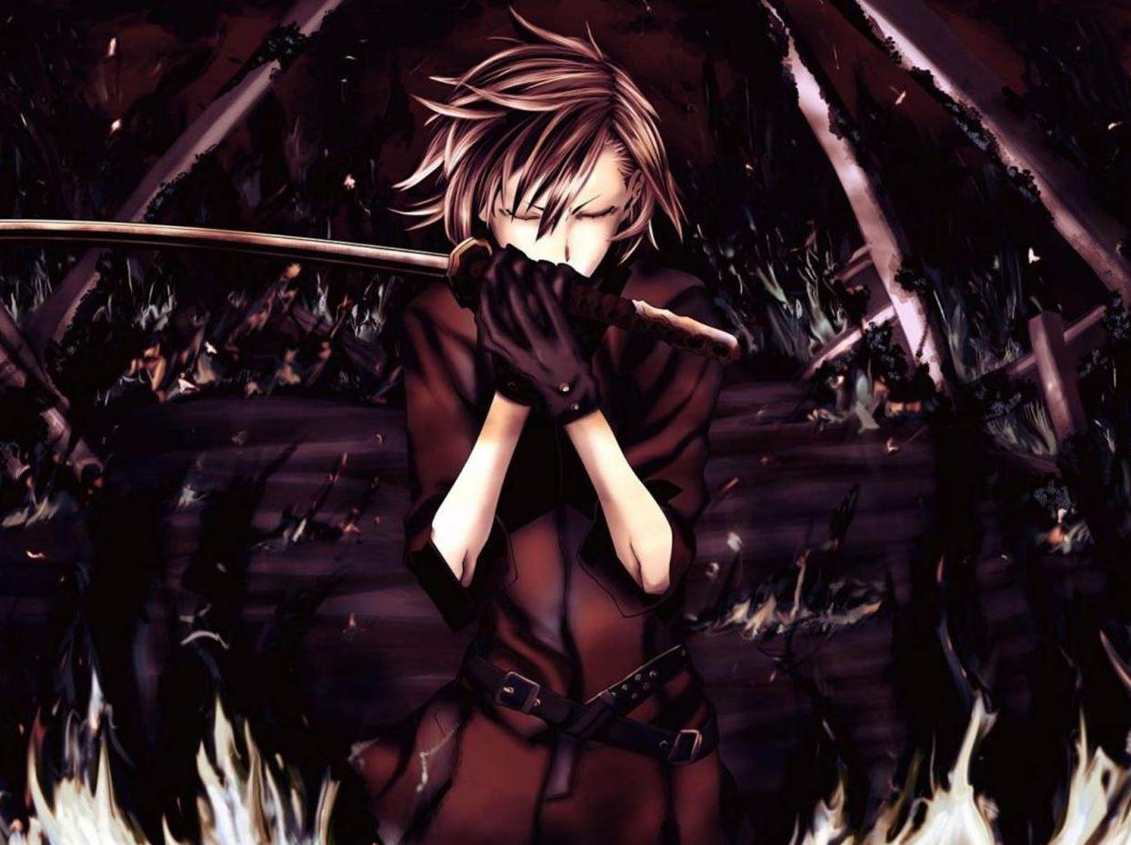 Một bức hình boy cực ngầu với kiếm