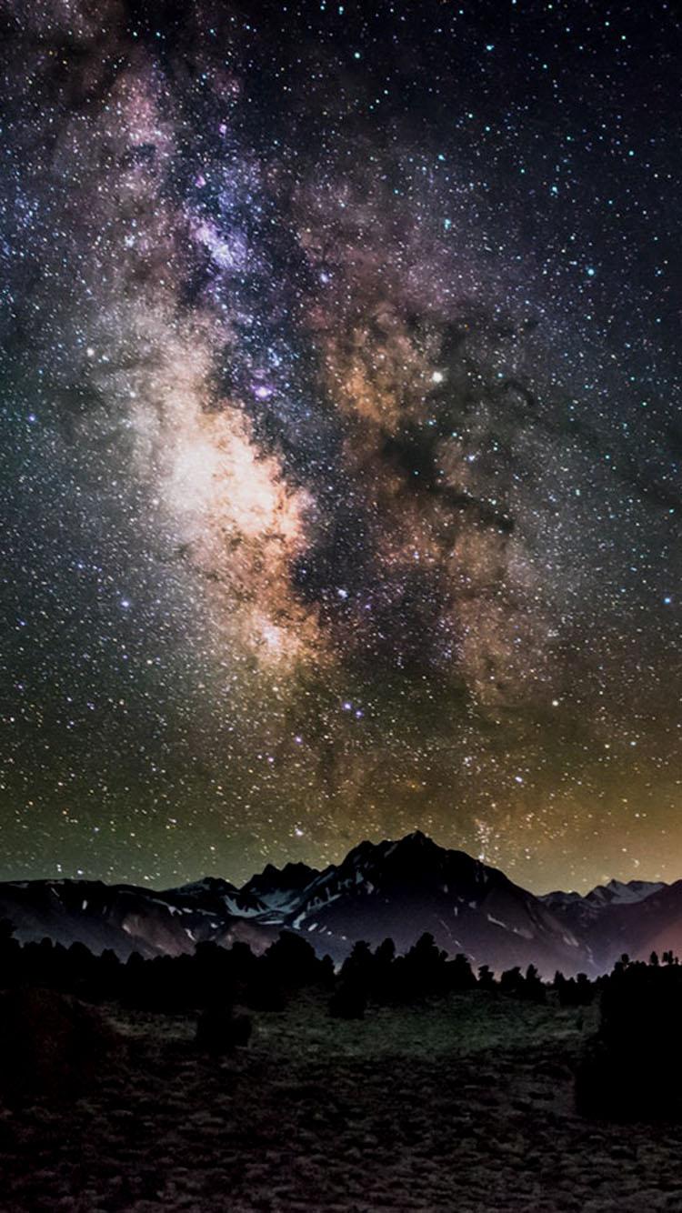 Một bức ảnh chụp từ trái đất