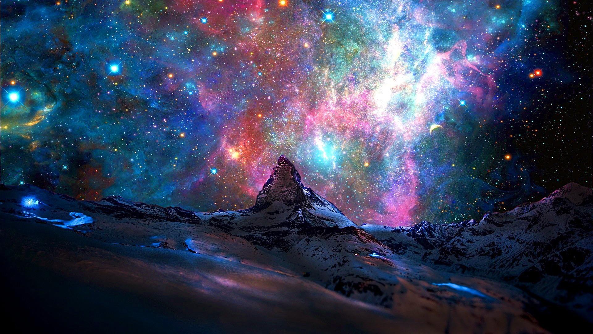 Vũ trụ luôn đa sắc màu
