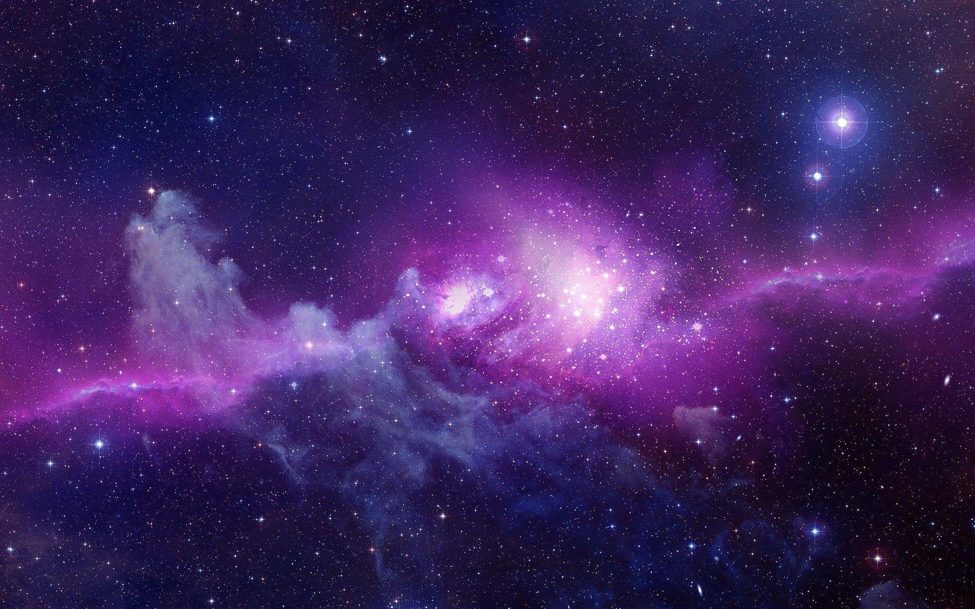 Hình nền vũ trụ huyền ảo