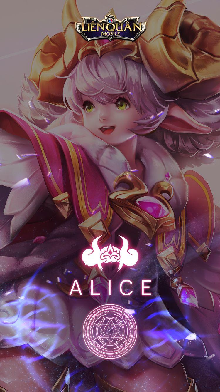 Hình nền Liên Quân cho điện thoại, tướng Alice