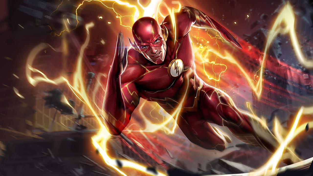 Ảnh nền Liên Quân Mobile tướng The Flash