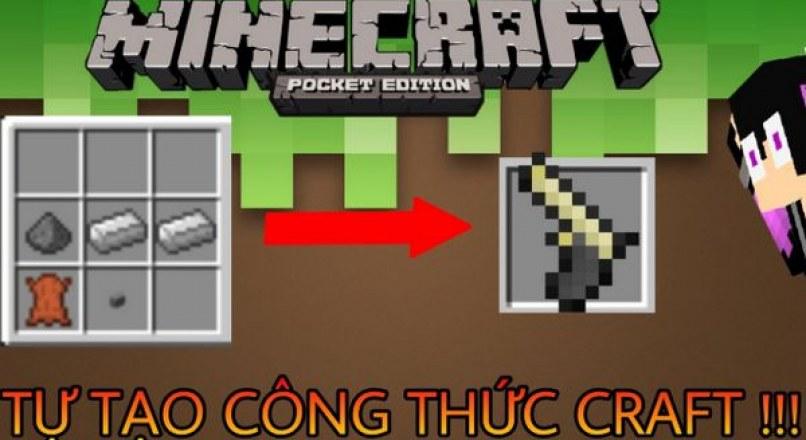 Công thức Minecraft: Cách chế tạo đồ cơ bản tham khảo.