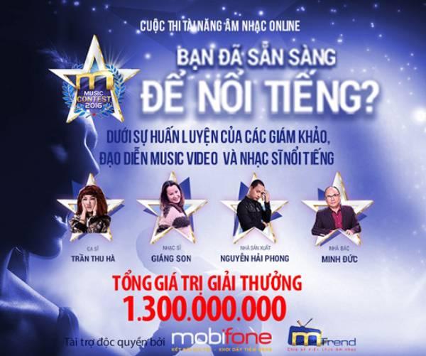 MMC2016 – Cuộc thi âm nhạc trực tuyến được đầu tư với quy mô lớn nhất dành cho giới trẻ Việt Nam hiện nay