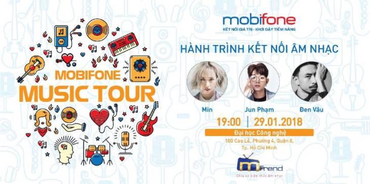 MOBIFONE MUSIC TOUR: KẾT NỐI HÀNG NGHÌN CON TIM YÊU NHẠC LẠI GẦN NHAU HƠN
