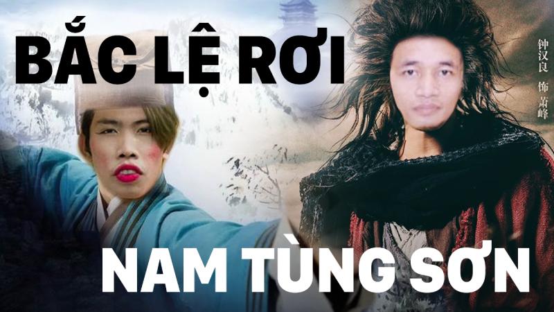 Tùng Sơn và Lệ Rơi: 2 nhân vật 1 kịch bản