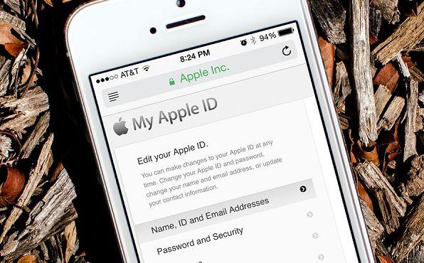 Lấy lại mật khẩu Apple ID thông qua iForgot