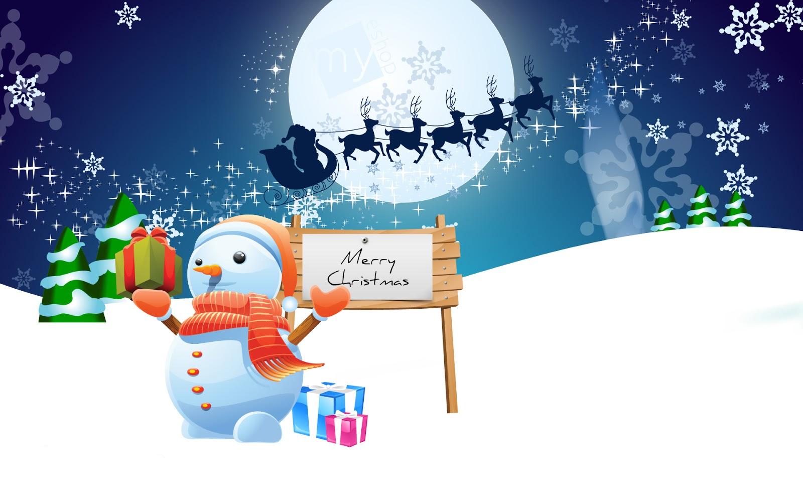 Bộ Hình Nền Giáng Sinh Đáng Yêu Nhất