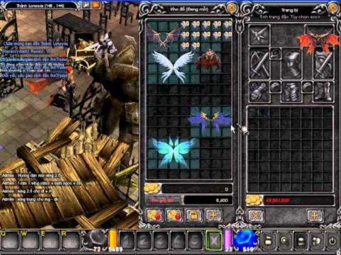 Những điều cần biết về Wing 2.5 trong game MU online