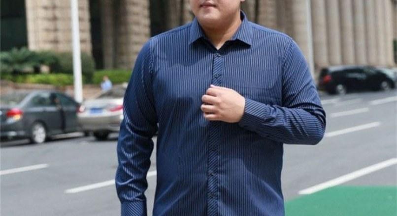 Cách chọn áo sơ mi nam cho người mập trở nên thon gọn