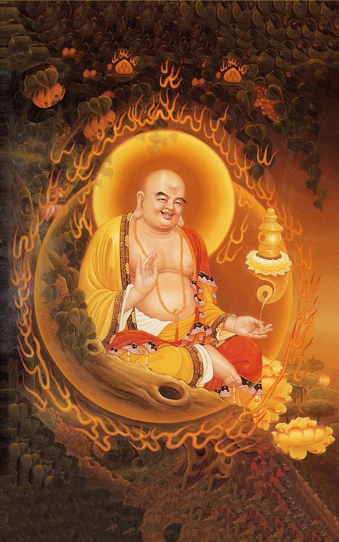 Phật Di Lặc rất nổi tiếng trong Phật giáo cũng như văn hoá phương Đông