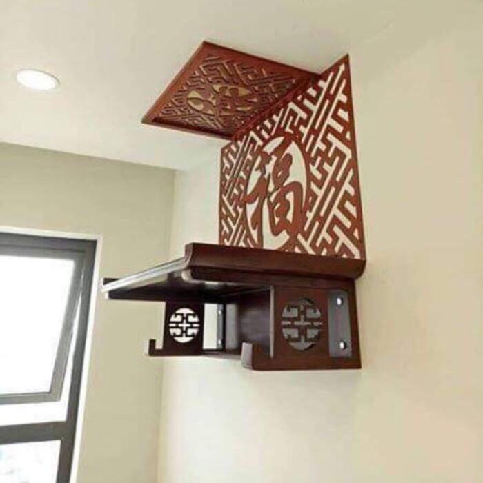 Mọi người cần cân nhắc điều kiện, nhu cầu để lựa chọn bàn thờ treo tường với kích thước tốt theo phong thuỷ