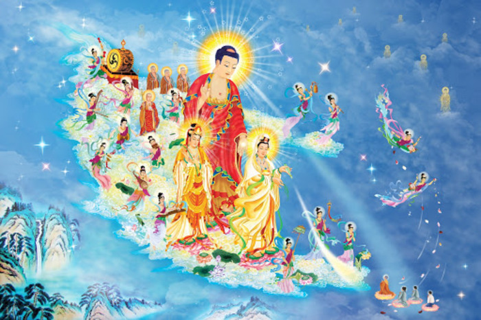 Hình ảnh Phật tiếp dẫn