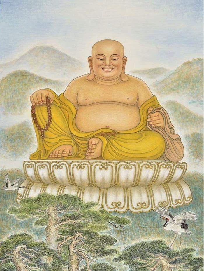 Hình ảnh Phật Di Lặc
