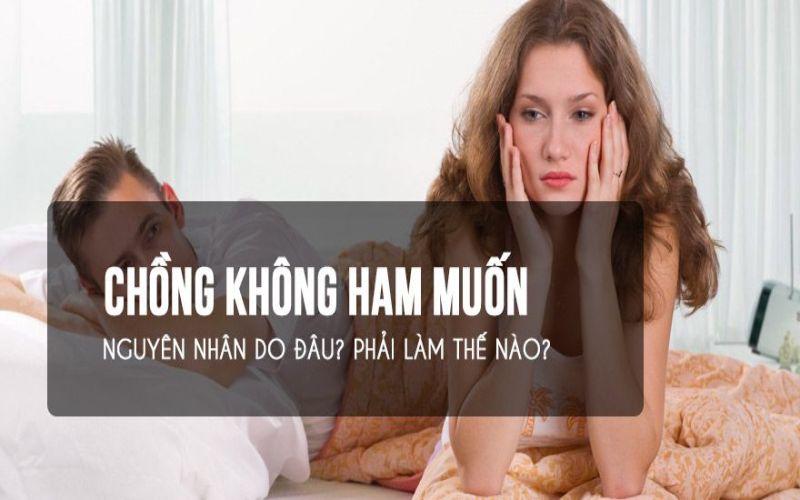 Hình 1: Chồng không ham muốn phải làm sao