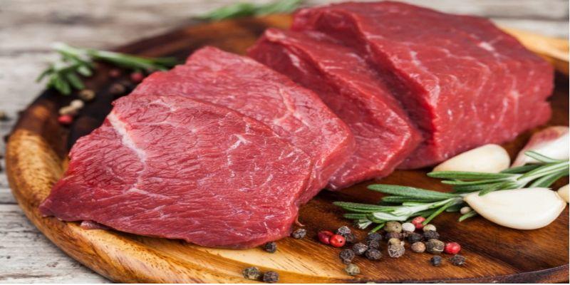 Hình 3: Thịt bò có chứa nhiều chất dinh dưỡng giúp cải thiện sức khỏe sinh lý nam giới