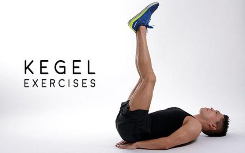 Hình 4: Cách tập Kegel đối với nam giới