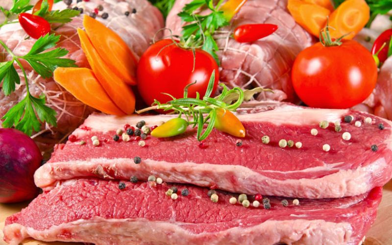 Hình 4: Thịt bò có chứa nhiều chất dinh dưỡng tốt cho người yếu sinh lý