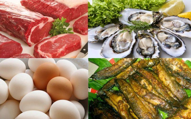Hình 2: Nam giới xuất tinh ít nên xây dựng chế độ ăn uống giàu dinh dưỡng