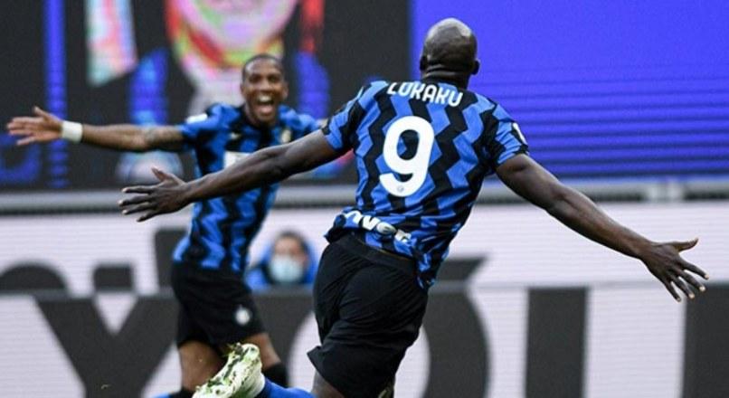 Cầu thủ Lukaku giúp CLB Inter Milan tiến sát ngôi vương