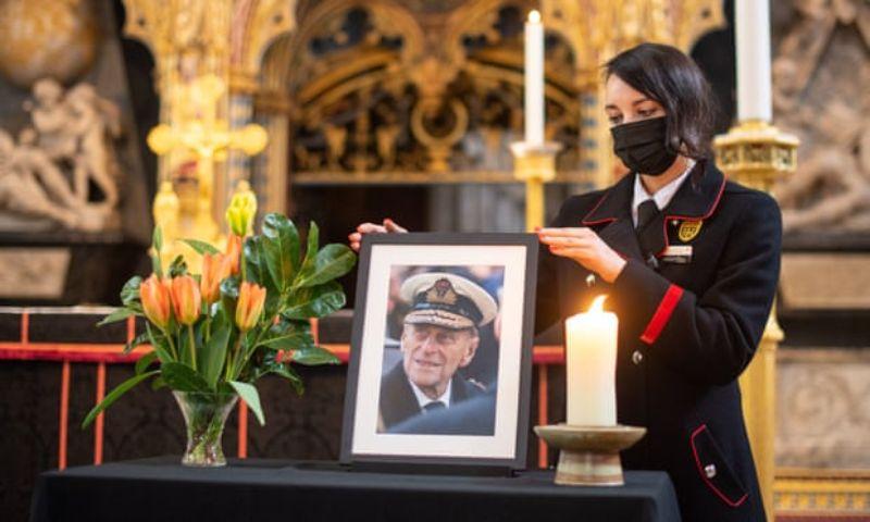 Tang lễ của hoàng thân Philip