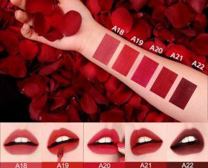 Bảng màu son Black Rouge Air Fit Velvet Tint season 4