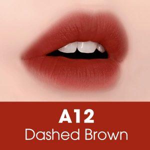 Son Black Rouge Dashed Brown A12 – Đỏ Gạch Trầm
