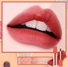 Son Black Rouge Peach Red A14 – Đỏ đào trầm
