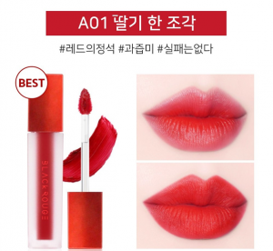 Son Black Rouge Strawberry Red A01 – Đỏ dâu