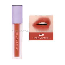 Son Black Rouge Sweet Cinnamon A09 – Cam Hồng Đất