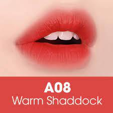 Son Black RougeWarm Shaddock A08 – Cam bưởi đỏ