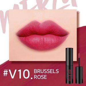 Son Merzy V10 Brussels Rose – Hồng đỏ đất