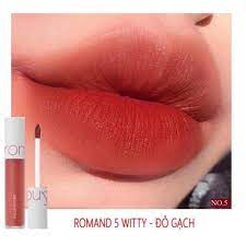 Son Romand Zero Velvet Tint màu 05 Witty