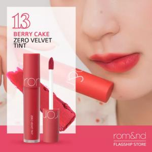 Son Romand Zero Velvet Tint màu 13 Berry Cake