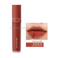 Son Romand Zero Velvet Tint màu 15 Rusk Rusk